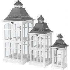 Wooden Lantern Set 76636