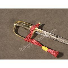 Polish saber 1921-22 chromed blade - replica