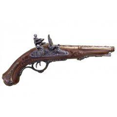 Grazing! Napoleon's Double Barrel Rocker Gun 1806 Denix 1026 - replica