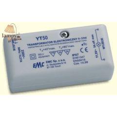 Transformator elektroniczny 50W 230/12V YT-50