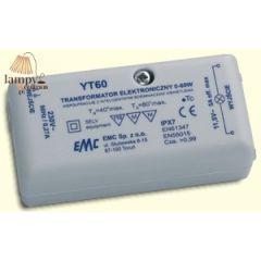 Transformator elektroniczny 60W 230/12V YT-60