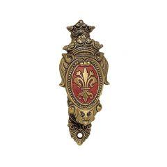 Weapon hanger Crest red gold patina Denix 24L