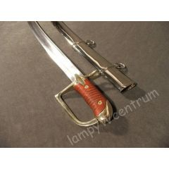 Polish combat saber model 34 with scabbard, forged, hardened - replica