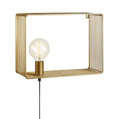 SHELF Kinkiet 1L Gold MARKSLOJD 107815