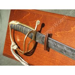 Polish saber wz1917 cavalry + wooden hanging board - replica