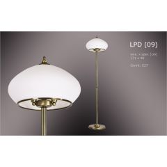 LD Astra LPD 2 flame floor lamp