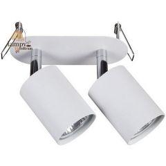 Lampa plafon 2 płomienny EYE FIT biały czarny Nowodvorski 9395 9398