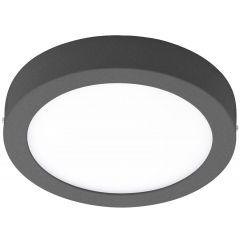 ARGOLIS LED ceiling lamp 22.5cm anthracite square EGLO 96492