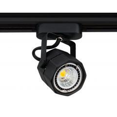 Lampa reflektor SLS KJ8061-C hexagon 1xG5,3 MR16 Black 230V Sinus