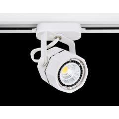Lampa reflektor SLS KJ8061-C hexagon 1xG5,3 MR16 White 230V Sinus