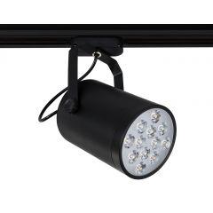 Lampa reflektor LED SLS GDA003-12W Black 3000K  Sinus