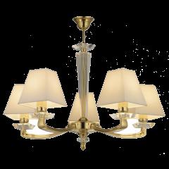 Lampa żyrandol 5 płomienny PLAZA AMPLEX 572 573