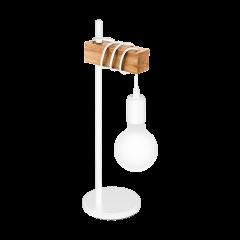 Table lamp TOWNSHEND white VINTAGE EGLO 33163