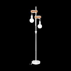 VINTAGE EGLO 33167 floor lamp TOWNSHEND white