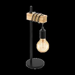 Table lamp TOWNSHEND black VINTAGE EGLO 32918