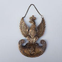 Legionary Eagle Józef Piłsudski Brass