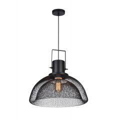 Single overhang BALDE lamp black Azzardo AZ2676
