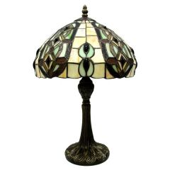 Stained glass lamp 62548