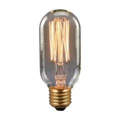 Retro INC Bulb E27 40W DIM longitudinal Italux 154045