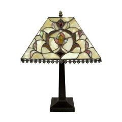 Stained glass lamp 48X32X32Cm 62557