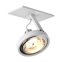 Gino Recessed spotlight lamp 1 flame white Line 20005-WH