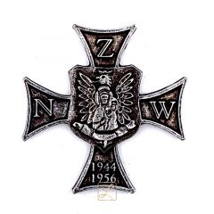 Commemorative badge of the National Military Union - NZW CROSS - PINS