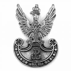 Military eagle badge wz. 19 with the symbol of Fighting Poland on the Amazon shield - PINS