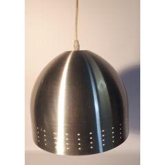 Lampa wisząca 1 pł. metalowa kopuła E27 BRILUX