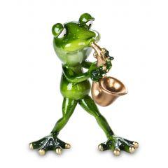 Frog Figurine Saxophonist 131142