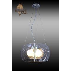 Lampa żyrandol 3 płomienny TRIO Sinus P6016-3-400