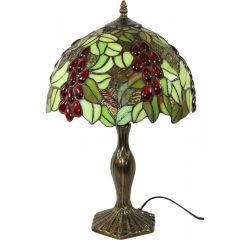 Stained glass lamp 101208