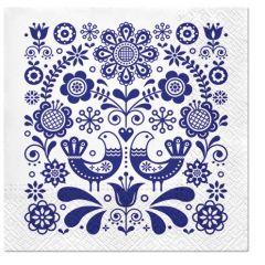 Pl Serwetki Folk Stamp 139828
