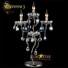 Lampa stołowa 3 płomienna TERESSA Eurostar 3015/3T
