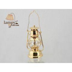 Statuetka lampy naftowej z kryształami Swarovskiego 122-0121