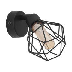Zapata 1 Lampa kinkiet 1 płom. czarny EGLO 32765 EGLO 32765