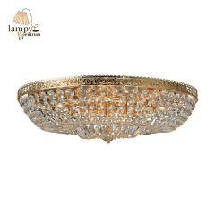 Flame ceiling lamp VANADIS 12 golden Markslojd 105315