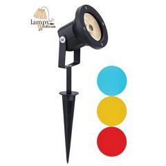 Lampa do ziemi spot LED RGB 3x1W TRADGARD Markslojd IP44 104721
