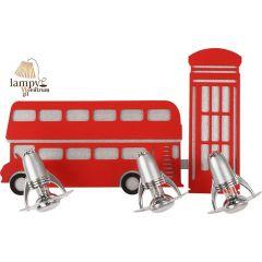 Lampa kinkiet 3 płomienny LONDON Nowodvorski 5232