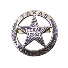 Silver Texas ranger Denix 102 badge