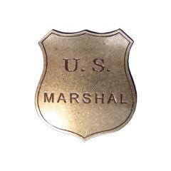 Gold US Sheriff Marshall Denix 103 badge