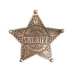 Lincoln County Denix 104 Sheriff's Gold Star