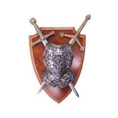 Panoplia with armor and two swords DENIX 506 - replica