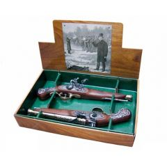 British Dueling set - 2 rocket pistols from the 18th century, Denix 2-1196L - replica