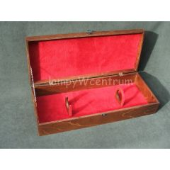 Universal wooden case for pistol replicas