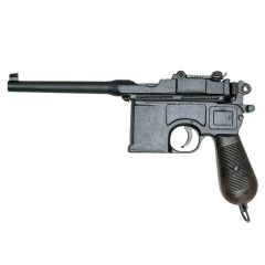 The famous Mauser C96 pistol from 1898 Denix 1024 - replica