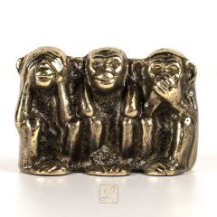 Figure 3 MONKEYS Brass