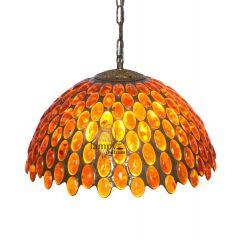 Lampa duża wisząca Bursztyn S4