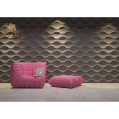 Panel dekoracyjny SINUS Dunes imitujący cieniowane fale burzowe