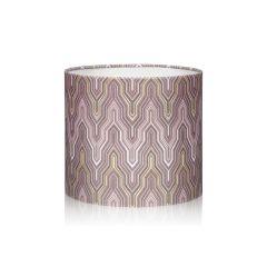 Ø 17cm Abażur WALEC MILANO purple/gold E14 E27 Markslojd 105576