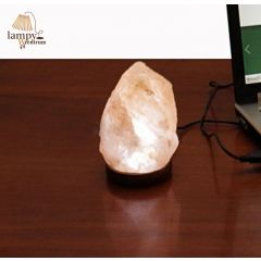 LED salt lamp 0,8kg USB No. 26